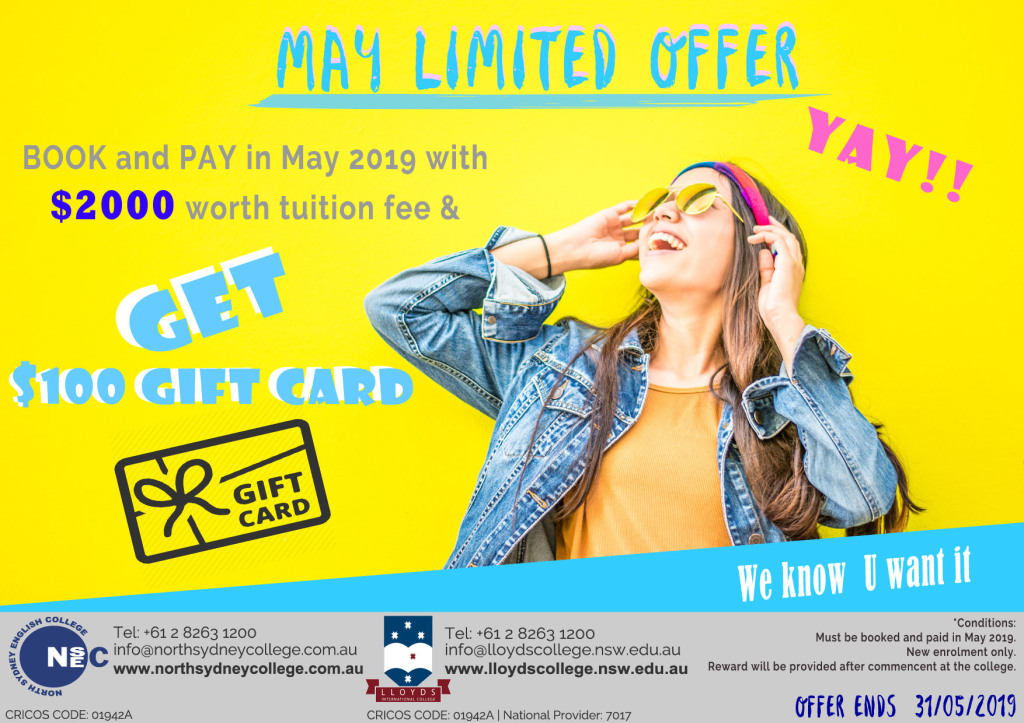 May Limited Offer
